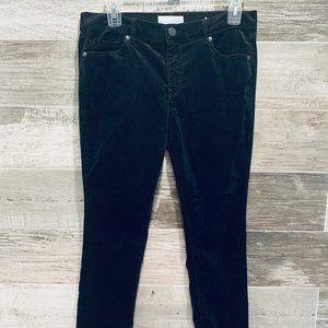 Soft Black Velvet Long LOFT pants